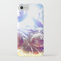 goku iPhone & iPod Cases featuring Goku by MATT DEMINO