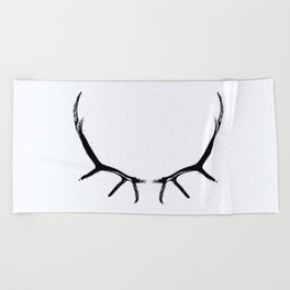 horns Beach Towel