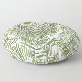 Areca Palm Pattern Floor Pillow