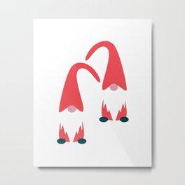 Santa Claus (Arctic) Metal Print