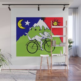 The 1943 Bicycle Lsd Wall Mural