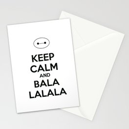 Keep Calm and Balala Stationery Cards