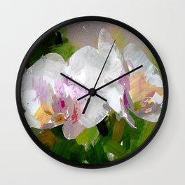 Orchideen Wall Clock