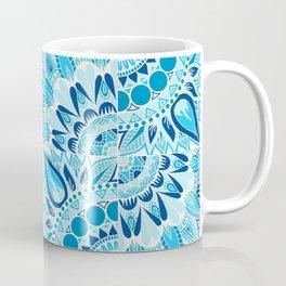 Inverted Ocean Mandalas Coffee Mug