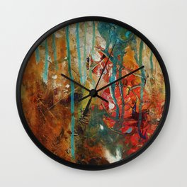 The Canyon (Piece 3) Wall Clock