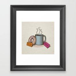 Breakfast in Wonderland Framed Art Print