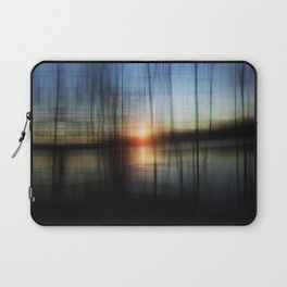 Sunset Blur Laptop Sleeve