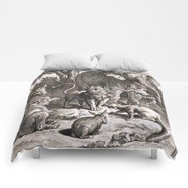 Le lion s'en allant en guerre Comforters