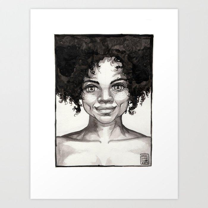 Upfront Art Print