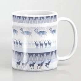 SANTA CLAUSE'S REINDEERS IN THE FREEZING COLD NORTH POOL Coffee Mug