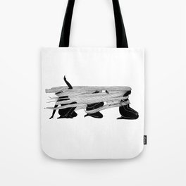 Face the wind Tote Bag
