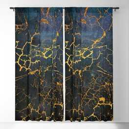 KINTSUGI  ::  Embrace Damage Blackout Curtain