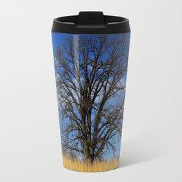 Prairie savanna oak - Savanna in the city Travel Mug