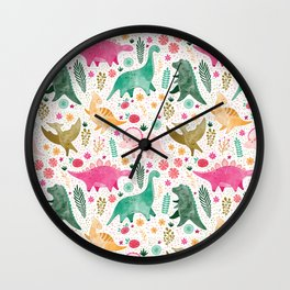Land of Dinos Wall Clock