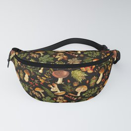 Vintage & Shabby Chic - Autumn Harvest Black Fanny Pack