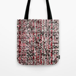 Linear Thinking Trip Switch (P/D3 Glitch Collage Studies) Tote Bag
