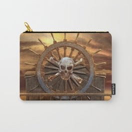 Pirate Skull Rudder Carry-All Pouch