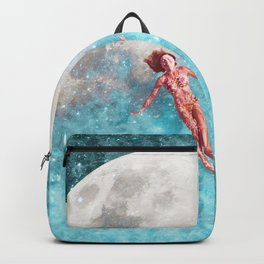 FLOATING TO THE MOON Backpack