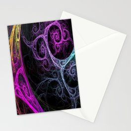 Mixedabstract Stationery Cards