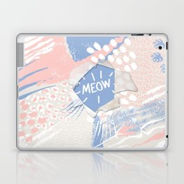 meow (wild cats)  Laptop & iPad Skin