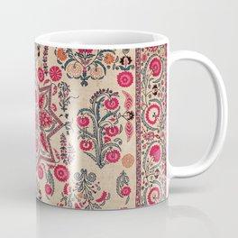 Ura Tube  Antique Tajik Suzani Embroidery Coffee Mug
