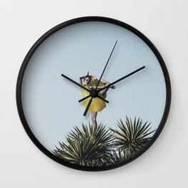 Organic Yoga Wall Clock