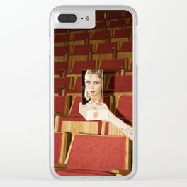 Mirror Mirror Clear iPhone Case