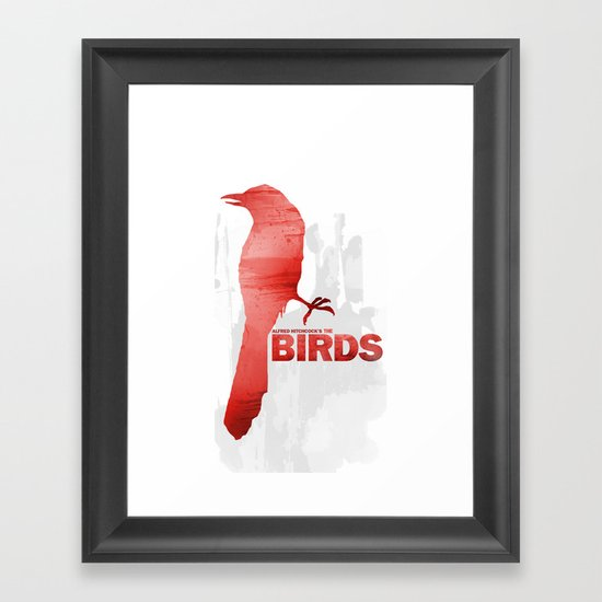 Alfred Hitchcock's The Birds Framed Art Print