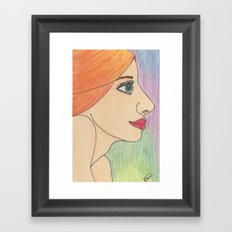 Irish Eyes Framed Art Print