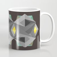 agents of shield Mugs featuring Shield by Tracy
