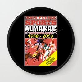 Back to the Future: Sports almanac Wall Clock