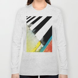 Urban Street Art Painting Long Sleeve T-shirt