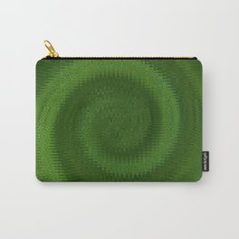 Green Ripples Carry-All Pouch