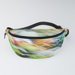 Vintage Glass Marbles Abstract Fanny Pack
