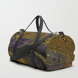 Flaming Butterfly Duffle Bag
