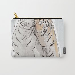 Tiger Love Carry-All Pouch