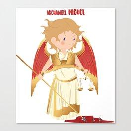 Archangel Michael. San Miguel Arcangel Canvas Print