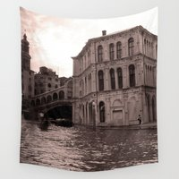 venice Wall Tapestries featuring Venice by Miz2017