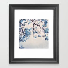blue friday Framed Art Print