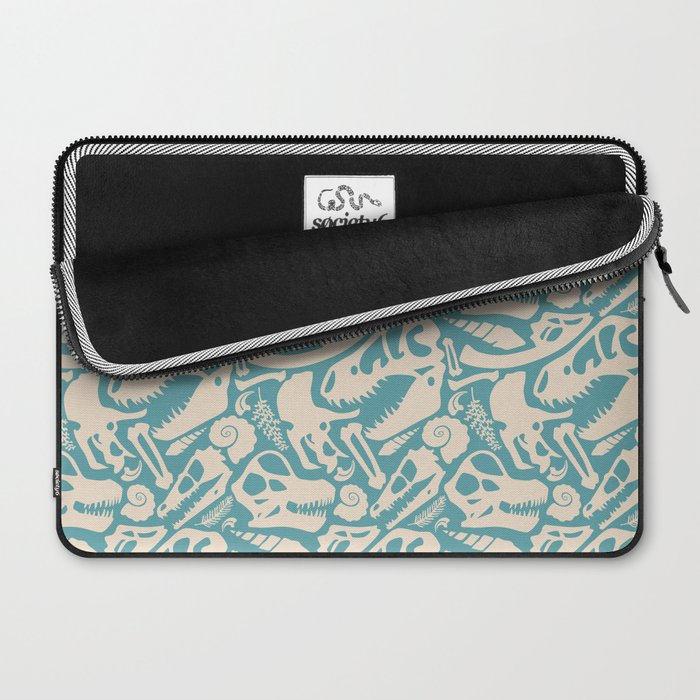 Fossil Pattern Laptop Sleeve