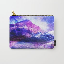 Abstract Mountain Landscape Carry-All Pouch