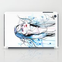 agnes iPad Cases featuring Agnes Cecile inspired painting  by SOLMONTASER
