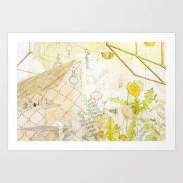 Dandilion Art Print