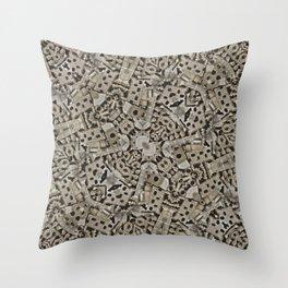 Cyber Punk Pattern Design Throw Pillow