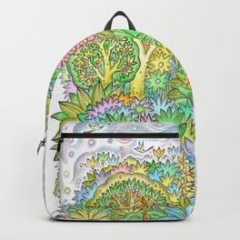 Middle of the forest Backpack