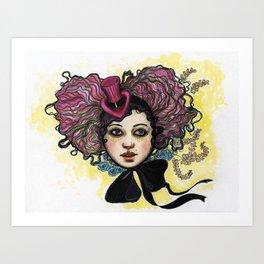 """""""BellaIII"""" Art Print"""
