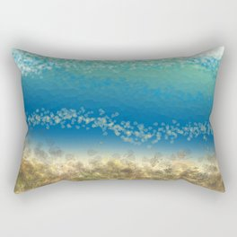 Abstract Seascape 04 wc Rectangular Pillow