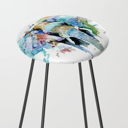 Animal painting Counter Stool