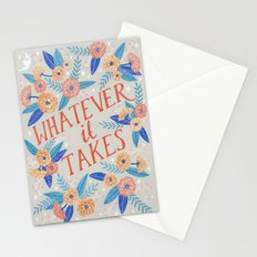 Whatever it Takes - Grey Stationery Cards