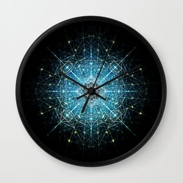 Dimensional Tensegrity Wall Clock